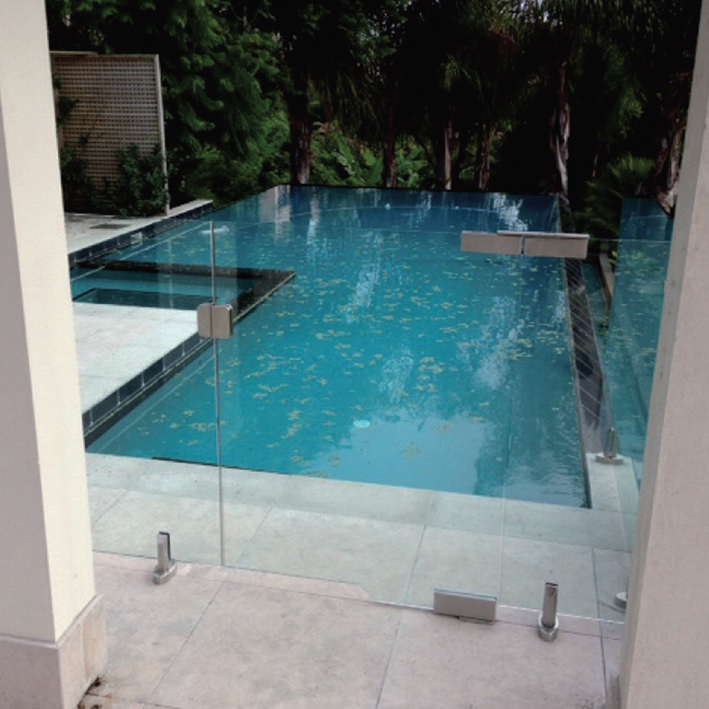 Frameless glass pool gates for Glass pool gate