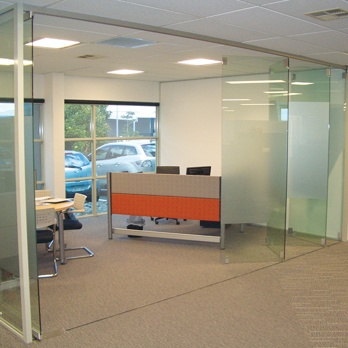 Frameless Glass Foldingstacking Doors